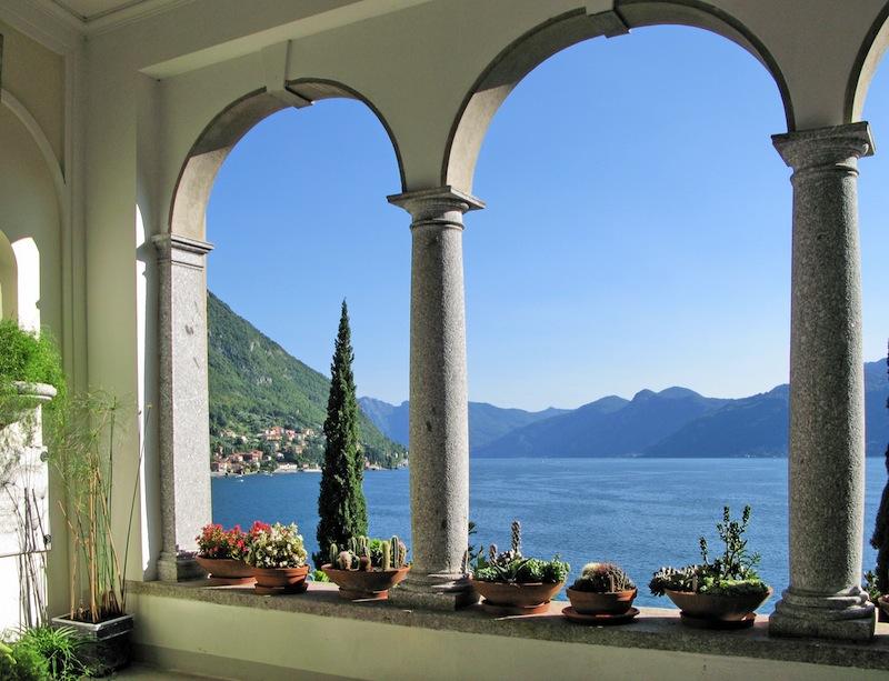 Como from villa Monastero