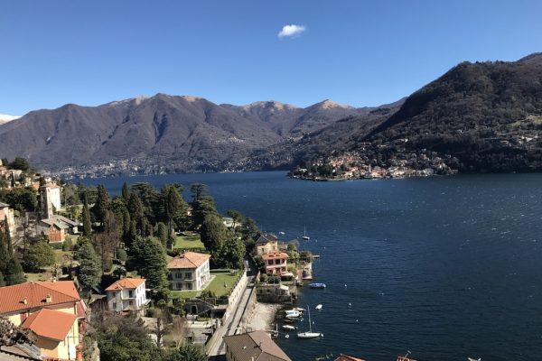Moltrasio Lake view