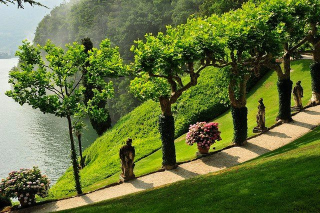 villa balbianello como lake