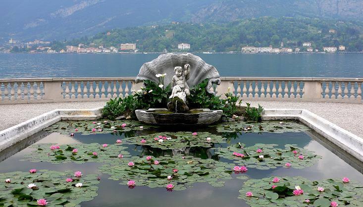 villa melzi como lake