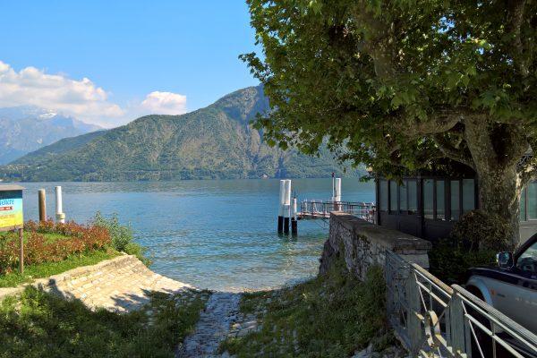 lenno near boat stop