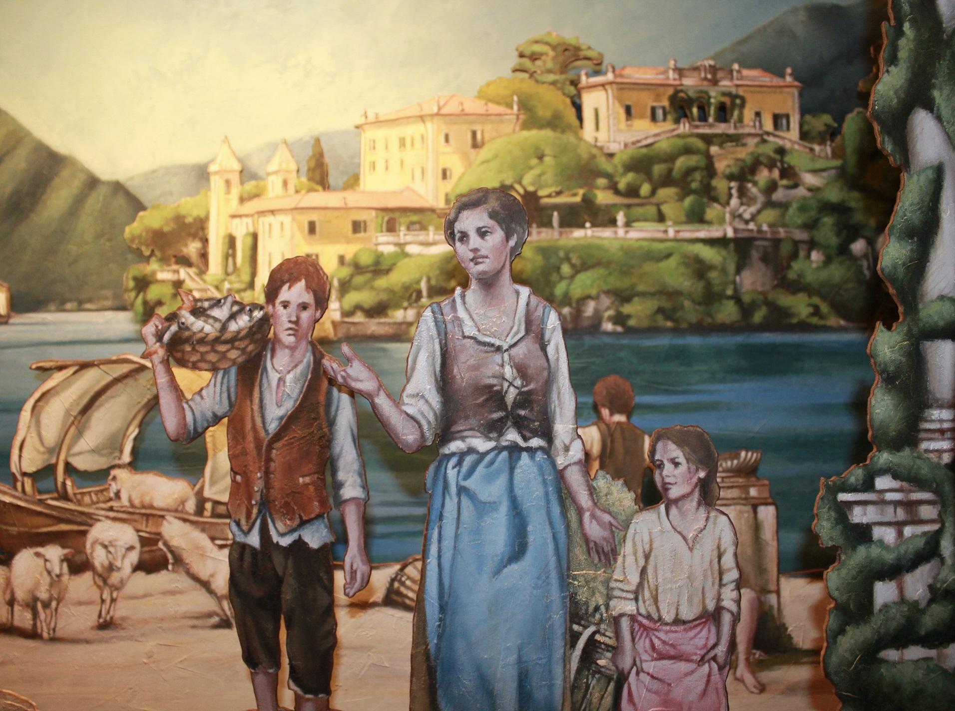 Presepi a Villa del Balbianello