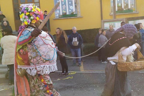 carnevale di Schignano ciocia e bel