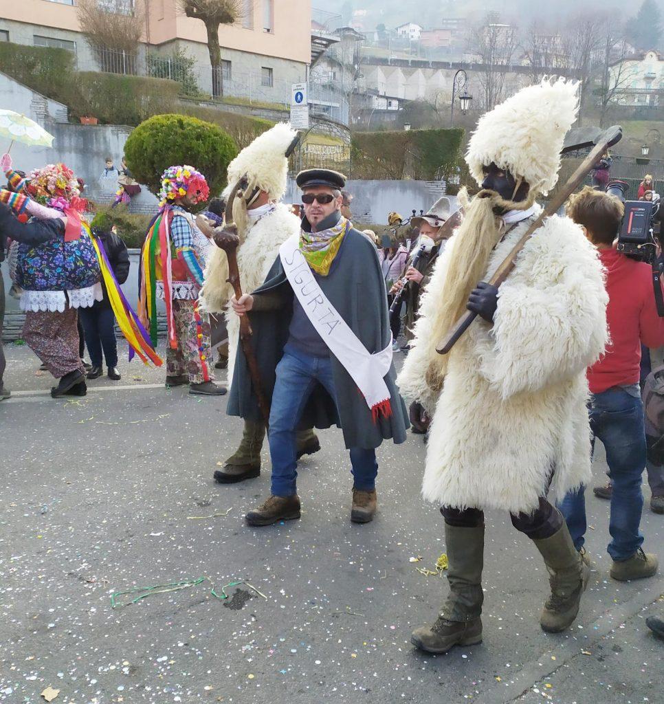 carnevale di Schignano sigurtà e sapeur