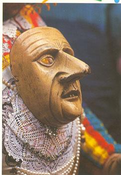 maschera carnevale di Schignano