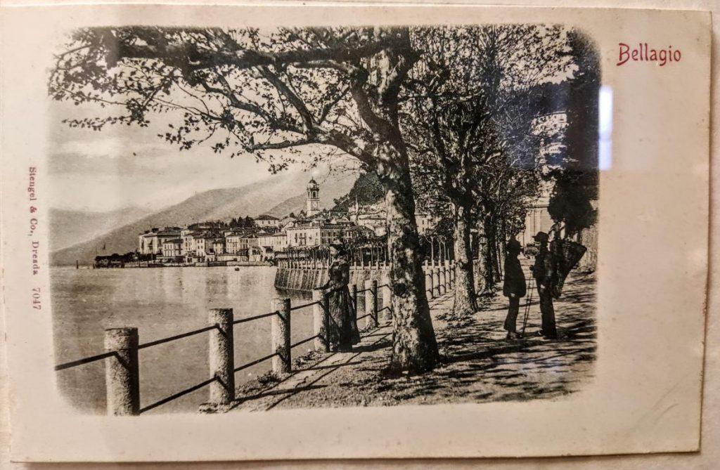 Bellagio cartolina