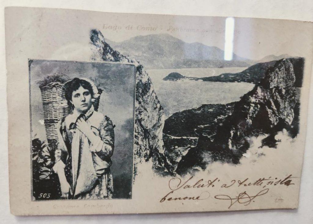 Panoramica lago cartolina 1
