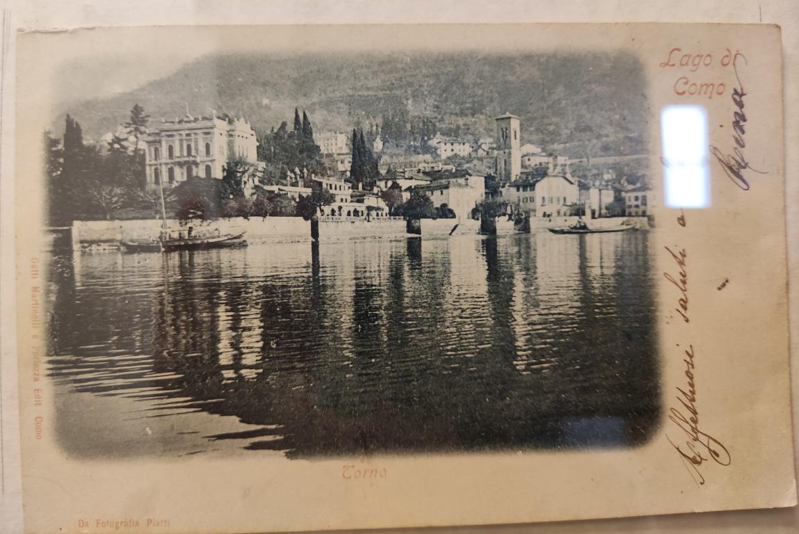 Vecchie Cartoline del lago di Como – antiche