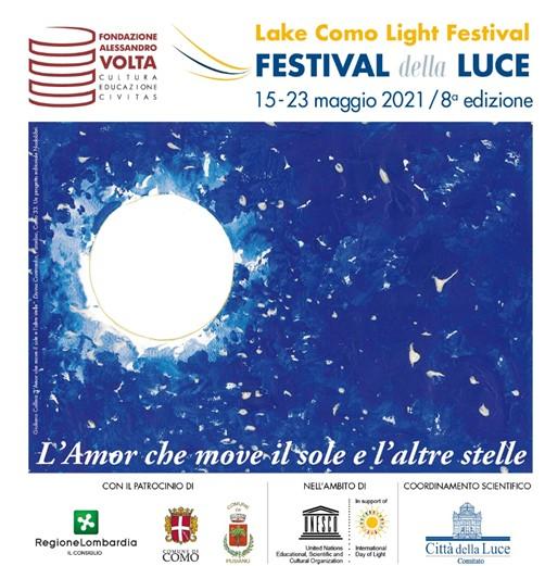 Festival della Luce Lake Como dal 15 al 23 maggio 2021 –  Programma