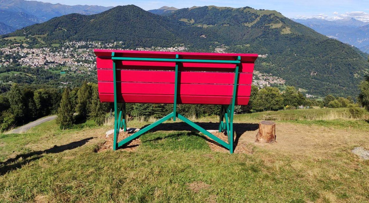 Big Bench – Panchina Gigante in Valle Intelvi – Lago di Como