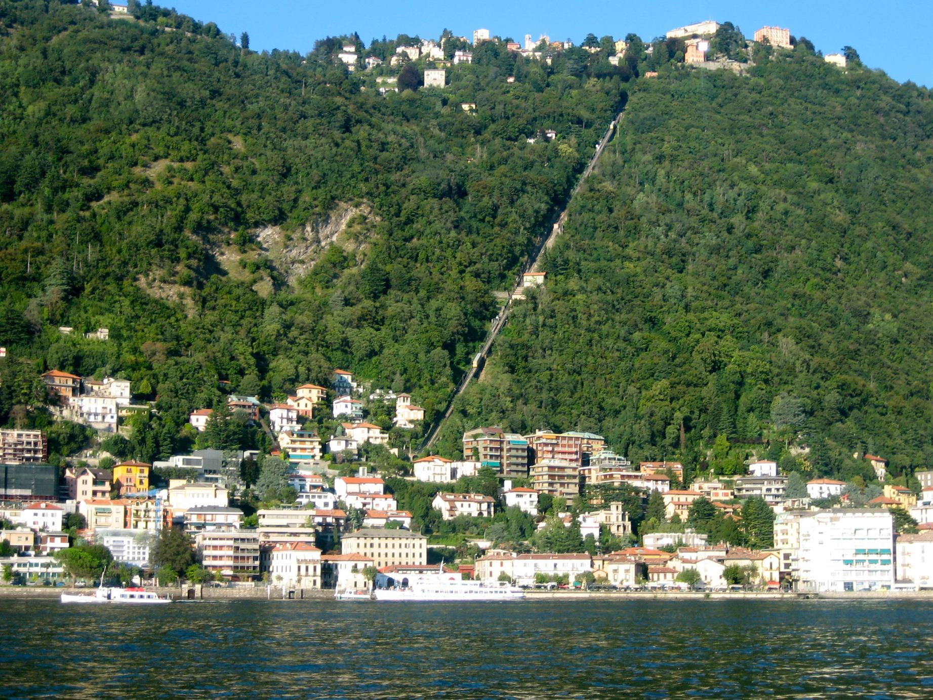 Brunate Cable Car Lago di Como