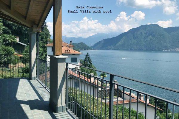 Villa Sala Comacina lago di como