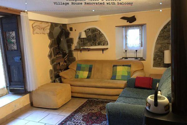 casa di borgo Schignano lago di como