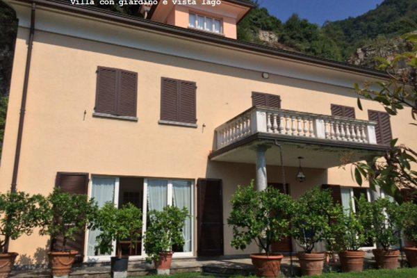 villa con piscina Moltrasio Lago di Como