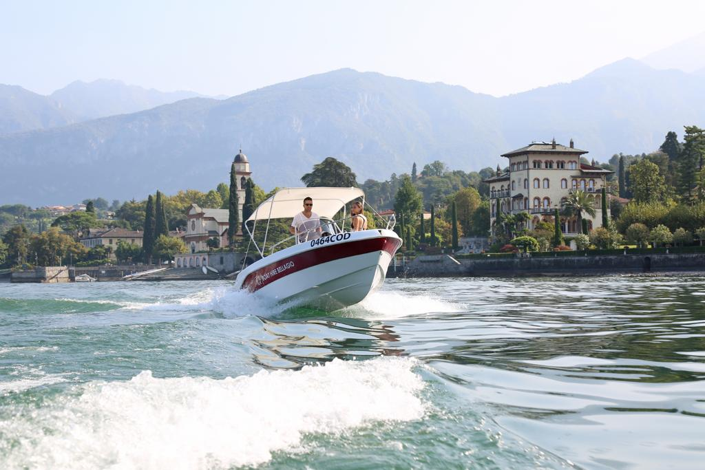 Boat Hire Bellagio