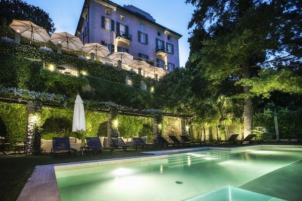 "Relais Villa Vittoria and restaurant ""Le Luci del Lago"""