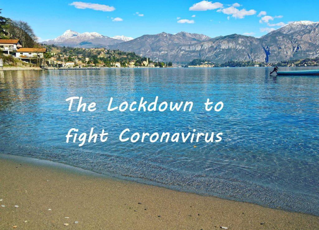 Coronavirus - lake Como - Lago di Como - Covid-19