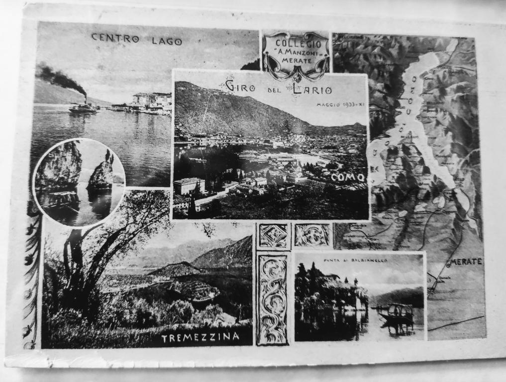 Cartolina del lago 1