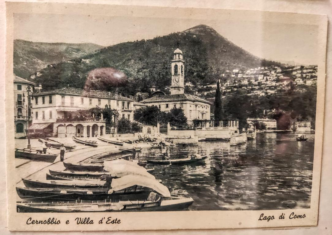 Old Postcards of Lake Como – ancient