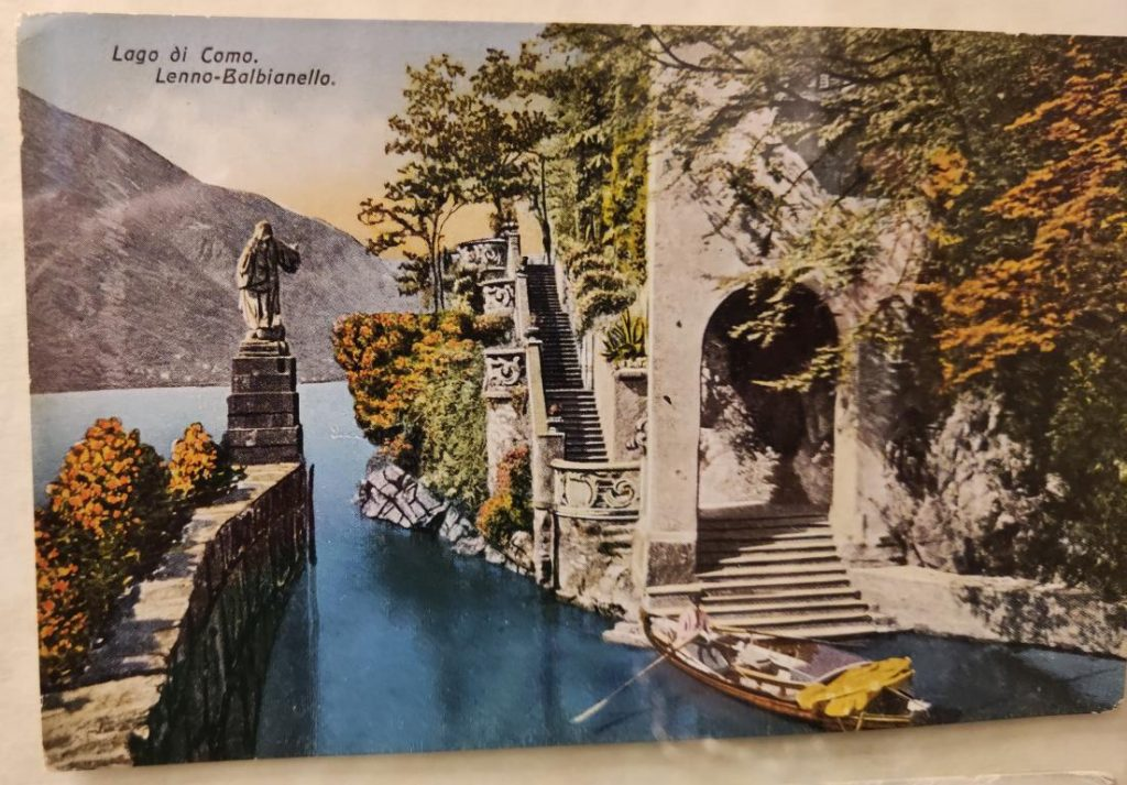 Lenno villa Balbianello cartolina 1