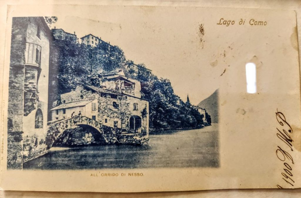 Orrido di Nesso Cartolina 1