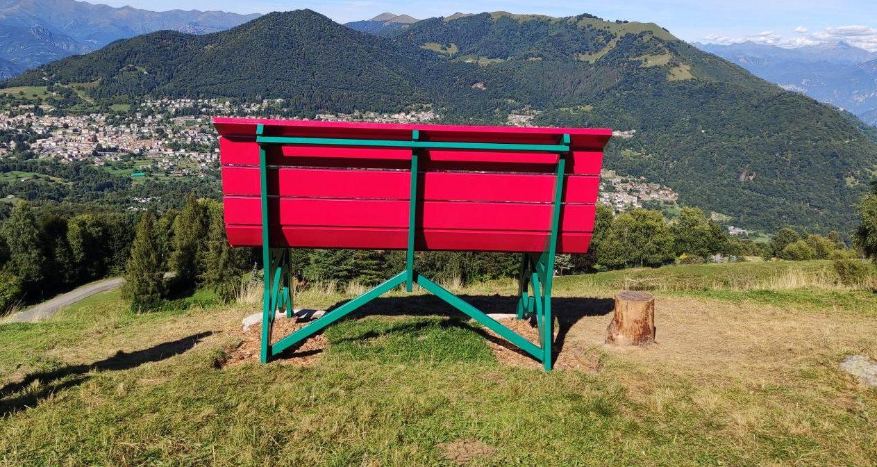 Big Bench –  Valle d'Intelvi – Lago di Como